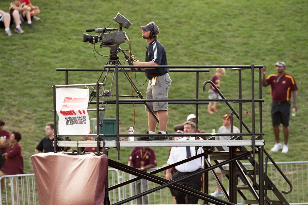 Demountable Camera Platform