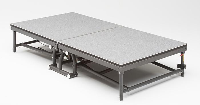 FR-2402 Fold & Roll Stage Riser