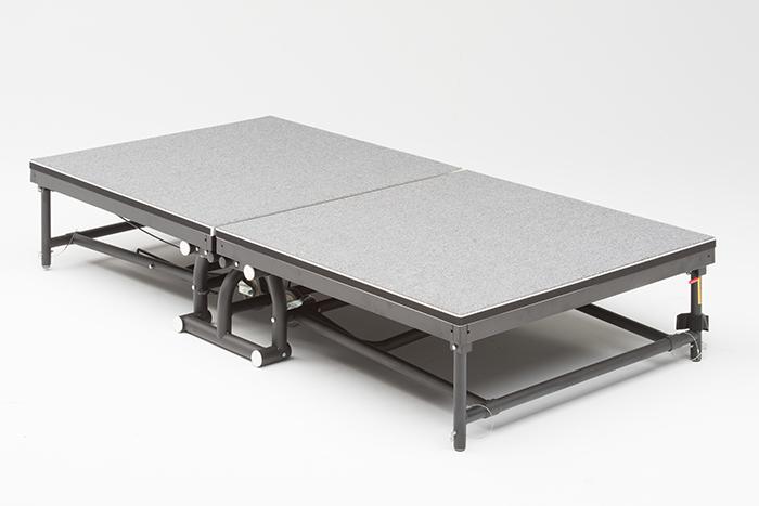 FR-2403 & FR-2404 Fold & Roll Stage Risers