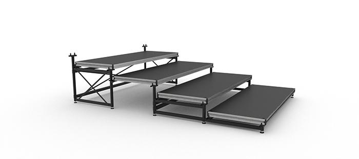 ZHD/ML Flexible Seating Riser