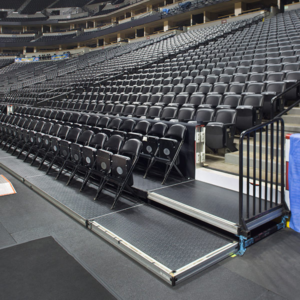 Demountable Seating Risers