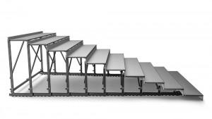 telescopic seating