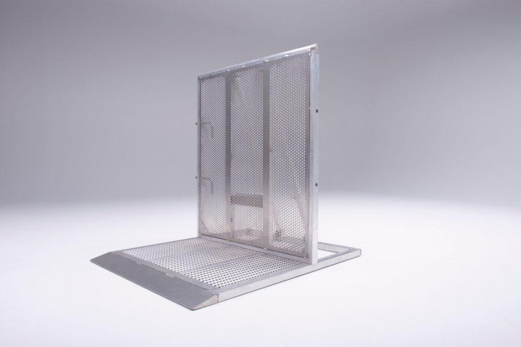 aluminum barricade