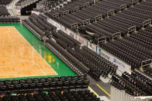 arena seating platforms
