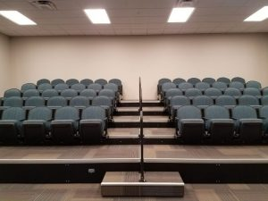 retractable theatre seating